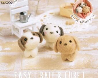 Cutie Trio - Puppies Needle Felting Kit