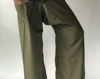 2T0011 Thai fisherman/Yoga are pants Free-size: Will fit men or woman