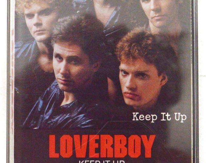 Vintage 80s Loverboy Keep it Up Album Cassette Tape