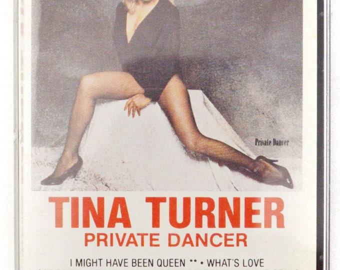 Vintage 80s Tina Turner Private Dancer Pop Rock Album Cassette Tape