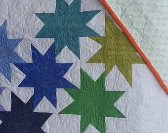 Longarm quilting services - Baby or Crib size - FREE SHIPPING - Batting INCLUDED