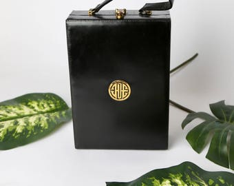 1950's Chinese Shou Box Bag
