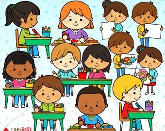 Coloring Kids Crayon Clip Art