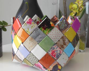 magazine paper basket laminate