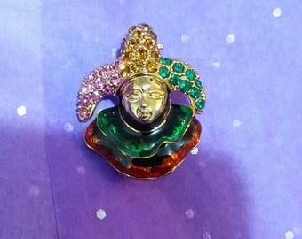 Medieval Court Jester Pin
