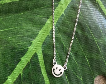 Happy Face Necklace