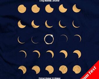 CUSTOM - Total Solar Eclipse 2017 Shirts