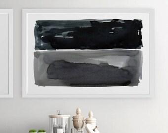 Abstract Painting, Gray Modern Wall Art, Abstract Art, Large Abstract Painting, Abstract Print, Abstract Wall Art, Large Abstract Art, Art
