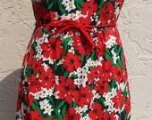 Vintage Sleeveless Floral...