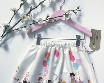 BeccaBoo Skirt - Children at Play SZ 4