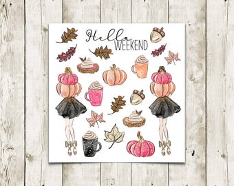 Bloomsical Pumpkin | Deco Stickers