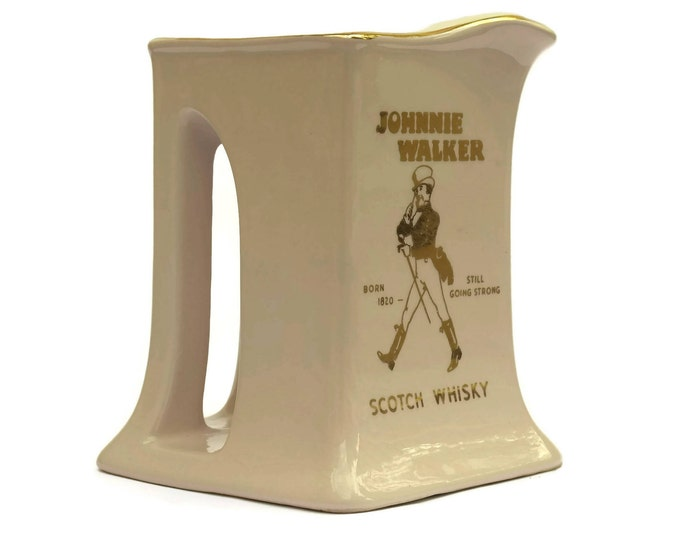 Orchies Moulin Des Loups Johnnie Walker Whiskey Pitcher.
