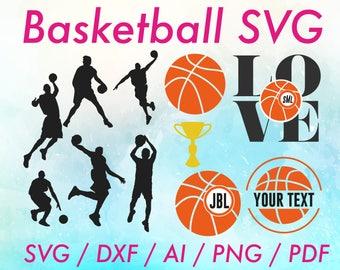 Basketball svg file / Basketball svg / Basketball file / Women basketball svg / Basketball svgs