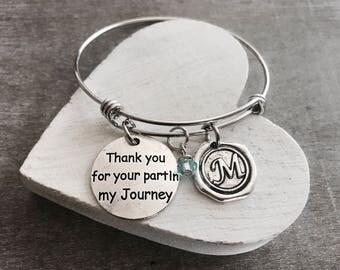 SALE, Thank you, Thank you Gift, Thank you Jewelry, Thank you Bracelet, Teacher, Coach, Bridesmaid, Gifts, Silver Bracelet, Charm Bracelet