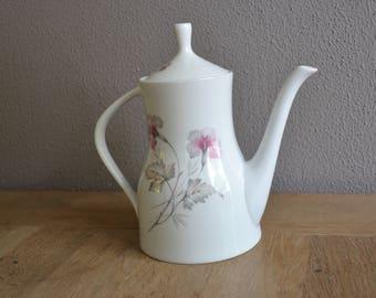 Vintage Edelstein Bavaria porcelain teapot/ coffeepot