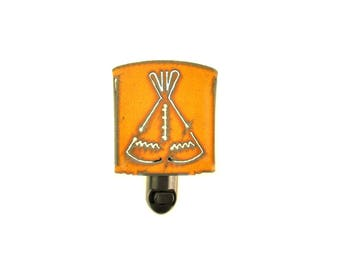 Teepee Rusty Metal Night Light