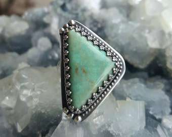 Turquoise Ring, Turquoise Ring, Mint Green Turquoise Ring, Turquoise Jewelry, Boho Jewelry, Boho Ring,Turquoise