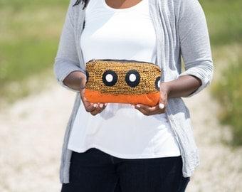 clutch purse, african purse, clutch bag, zipper fabric pouch, zipper travel pouch, pencil pouch, pencil case, clutch wristletafrican clutch
