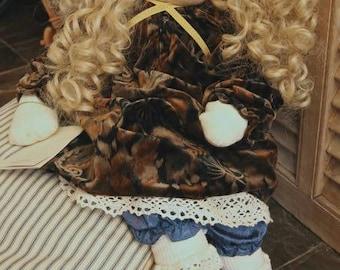 """Little Souls Doll OOAK Signed by Gretchen Wilson 1997 """"Darlene"""" 24"""""""