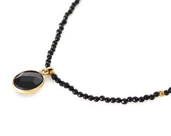 the black onyx Choker