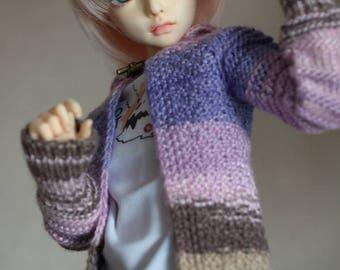 Bamboo cardigan for Minifee, Narae, Slim MSD BJD