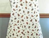 Christmas mother/toddler matching aprons Christmas aprons, Christmas bear aprons vintage