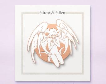 """Crybaby - Enamel Pin, """"Fairest & Fallen"""""""