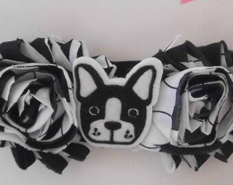 Boston Terrier Headband