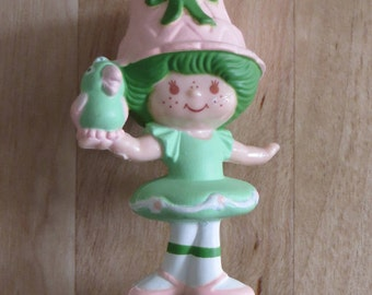 Vintage Strawberry Shortcake Strawberryland Miniatures Lime Chiffon & Parfait Parrot