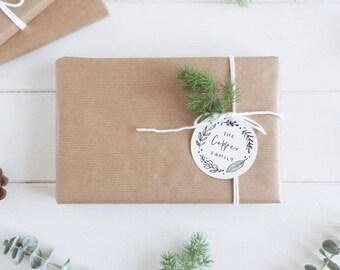 Christmas gift tags, holiday gift tags, holiday labels, Christmas stickers, custom gift tags, customized gift tags, custom Christmas tag