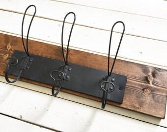 READY to SHIP | V+B essential small wall hooks | 3 hooks