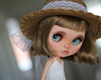 RESERVED Summer - custom Blythe Doll by Blue Butterfly Dolls
