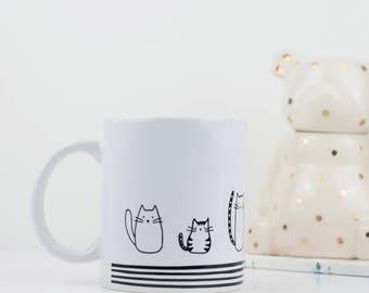 Cat lover gift - Crazy Cat Lady mug - Cat Mug - Birthday Gift - Valentines Gift