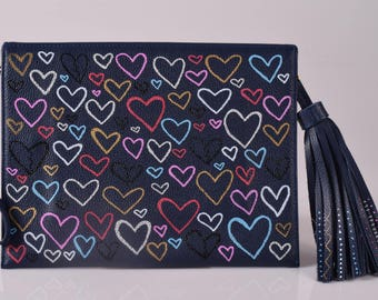 Love me Harder Clutch Bag