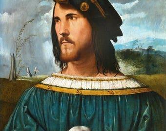 Portrait of Cesare Borgia,  (1475-1507)