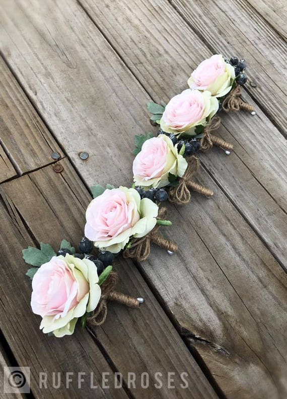 like this item - Garden Rose Boutonniere