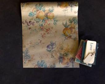 Vintage Wallpaper Roll - Vintage Wall Paper