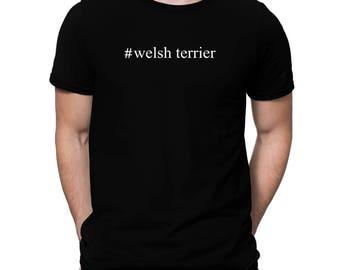 Welsh Terrier Hashtag T-Shirt