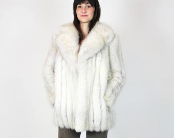 Fox Fur Coat Vintage