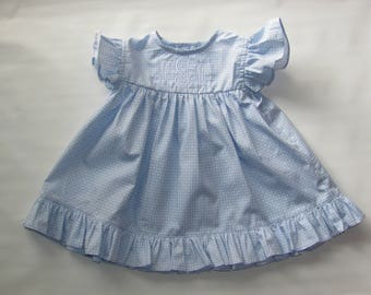 Easter Dress, easter Dress Girls, Spring Dress, Girls Spring Dress, Summer Dress, Baby Dress, Girl Dress, Free Monogram 3M, 6M, 12M