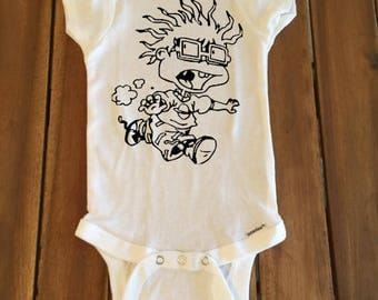 Chuckie rugrats onesie