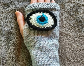Evil Eye March For Our Lives Sea Of Eyes Gloves