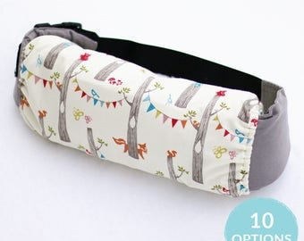 Baby Carrier Bag in Choice of 10 Prints, Organic Stuff Sack for Soft Structured Baby Carriers, Tula, Ergo, Lillebaby, Beco, Boba, BabyBjorn