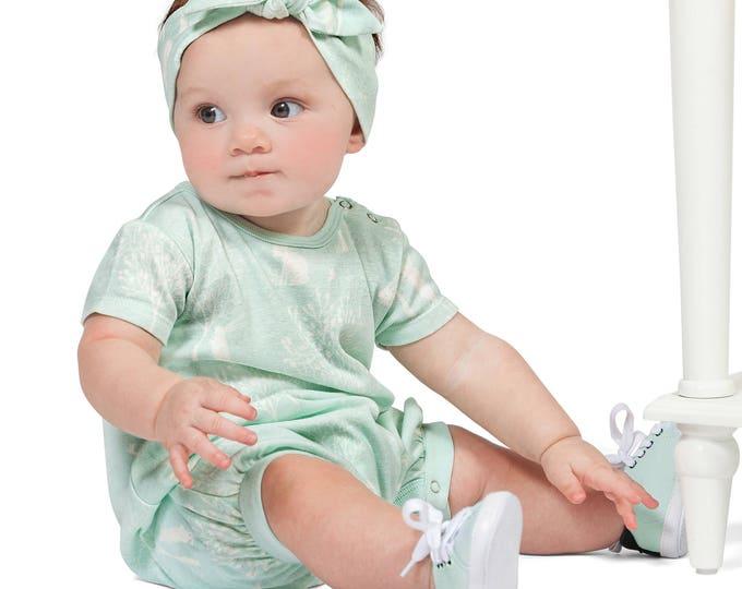 Easter Baby Girl Romper, Baby Girl Easter Outfit, Bunny Baby Girl Onesie Romper, Newborn Girl, Spring, Infant Girl Romper, TesaBabe