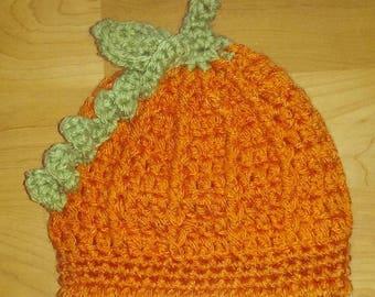 Handmade Pumpkin Hat for baby's and children!