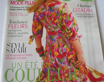 Catalog magazine spring/summer special Burda sizes 44/54