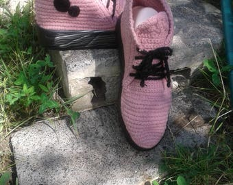 The stylish summer knitted boots!!!))  knitted shoe .summer boots .