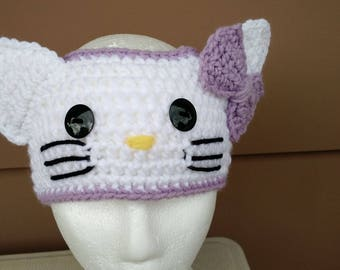 Kitty Headband / Earwarmer  , child size
