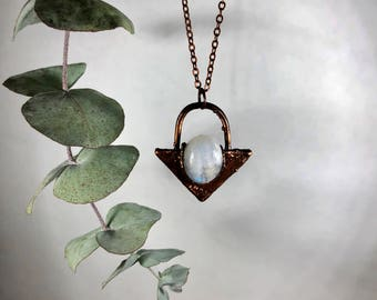 Everly necklace - Moonstone