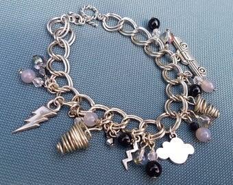 Stormy Night Stormchasers charm bracelet